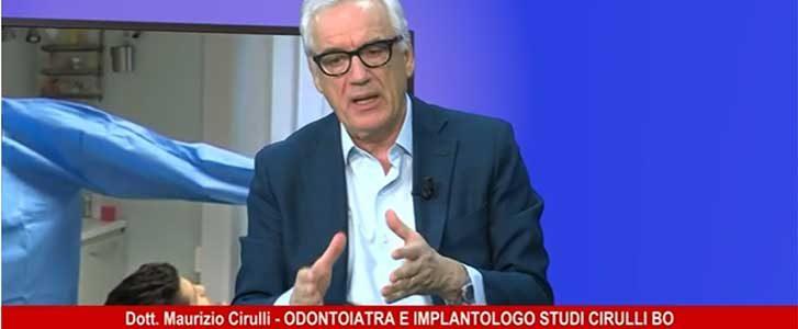 dr cirulli odontoiatra bologna intervista telereggio