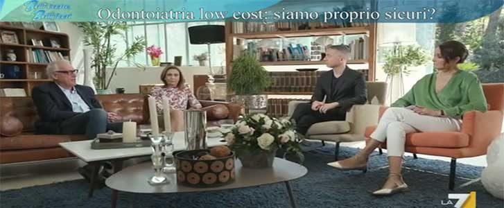 odontoiatria low cost intervista la7 dr maurizio cirulli